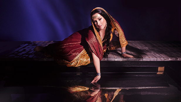 "Diana Damrau as Leila in a new production of Bizet's ""The Pearl Fishers."""