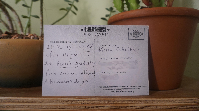 Karen postcard