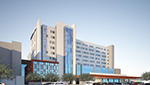 Architect's rendering of the new Banner - University Medical Center tower.