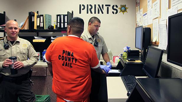 jail fingerprinting spotlight