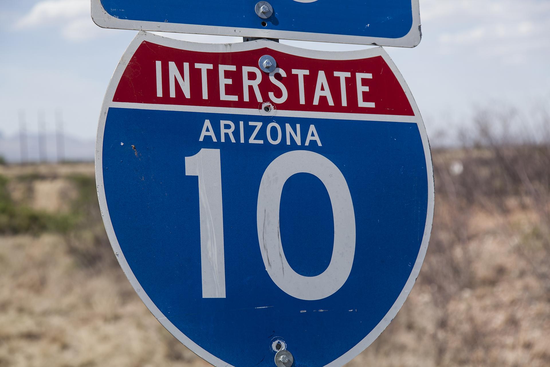 I-10 sign spot