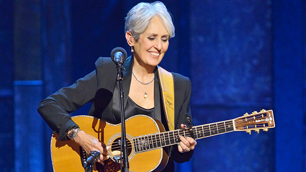 Joan Baez celebrates her 75th birthday at New York's historic Beacon Theatre with a performance that honors her legendary 50-plus years in music.