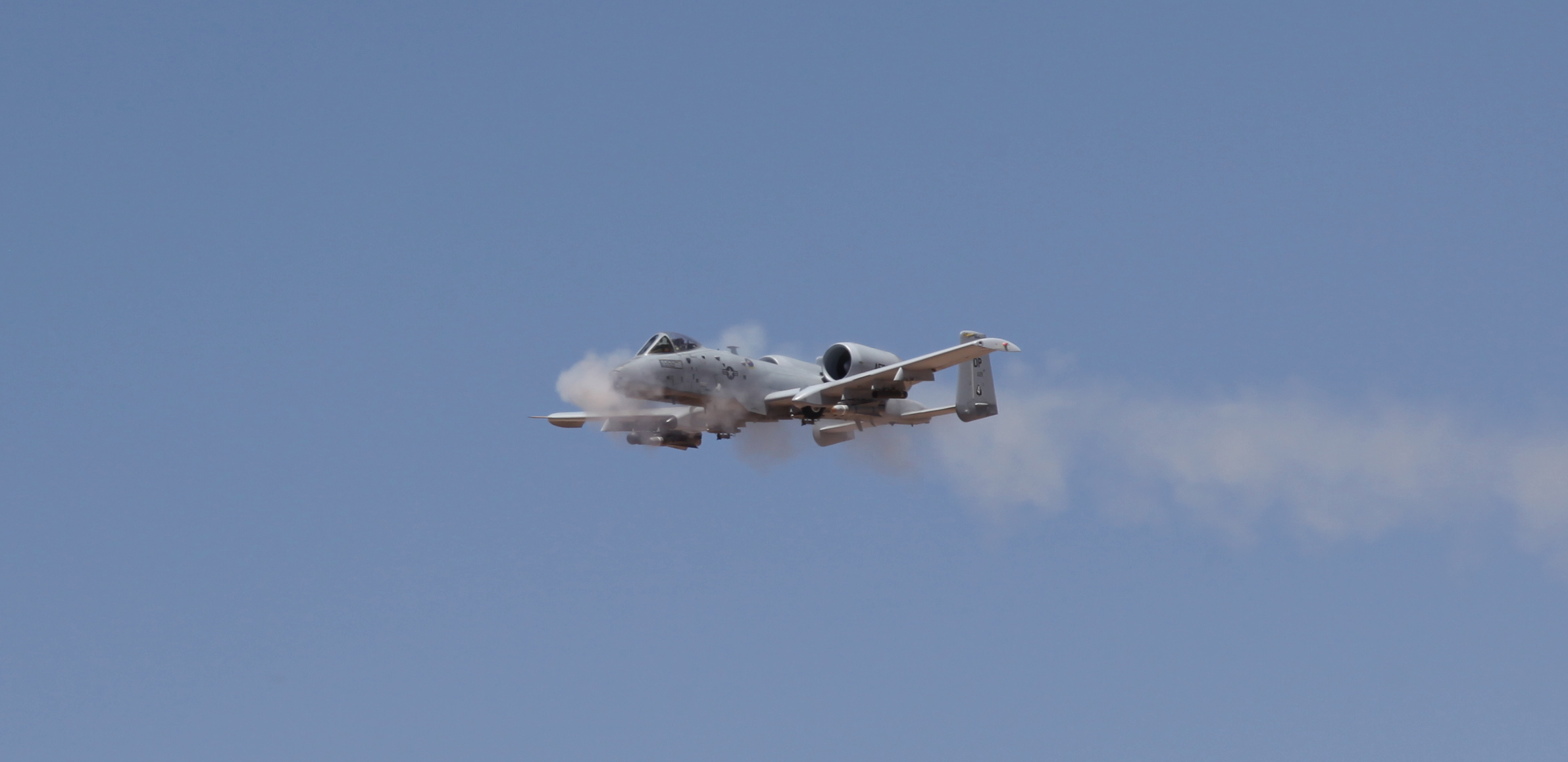 47th FS A-10 Straffing Spotlight