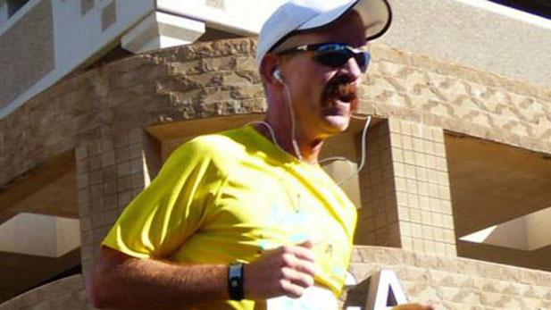 Tucson-to-Phoenix runner Geoff Schmidt.