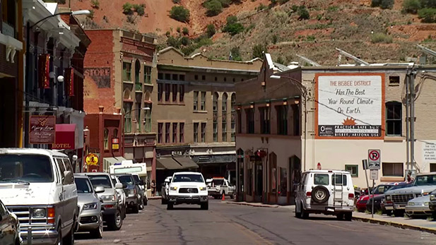Unusual architecture in Bisbee.