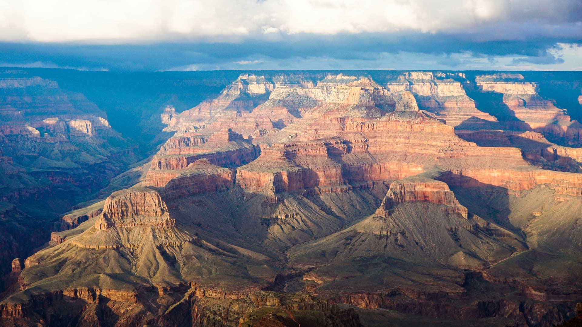 The Grand Canyon in northern Arizona.