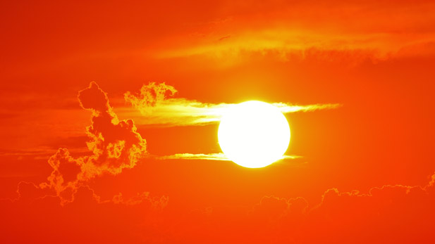 Hot Heat Sun spot