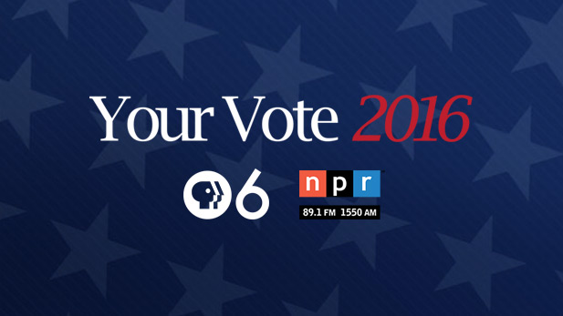 Complete election coverage with NPR 89.1 and PBS 6.