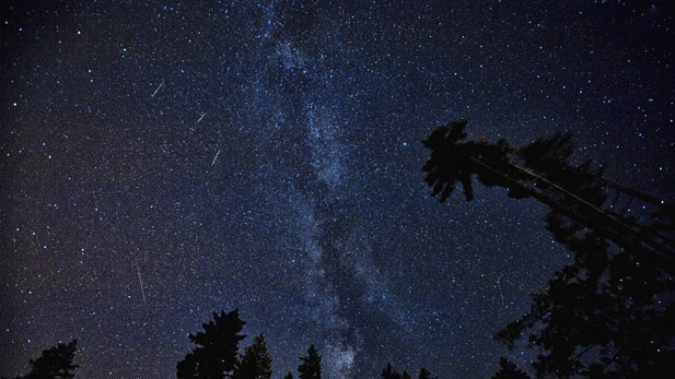 Perseids, Meteor Shower spot