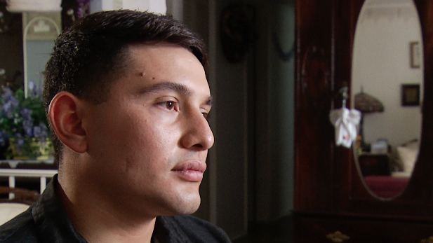 "Luis Jimenez, 23, a ""dreamer"" whose father was missing in the desert in summer 2016."