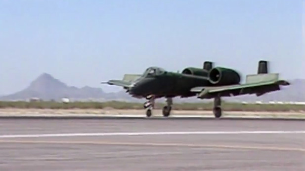 From the Vault: A-7 Crash