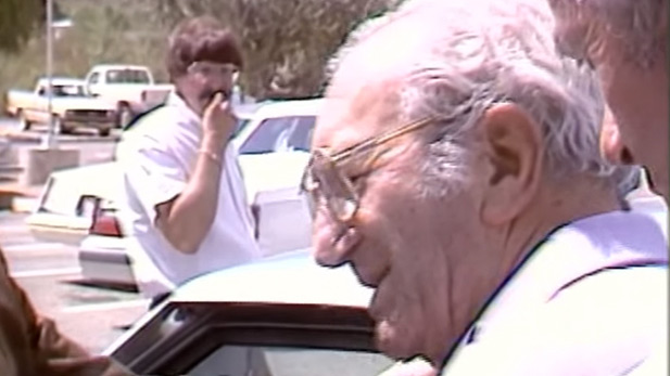From the Vault: Joseph Bonanno held in Contempt of Court 1985
