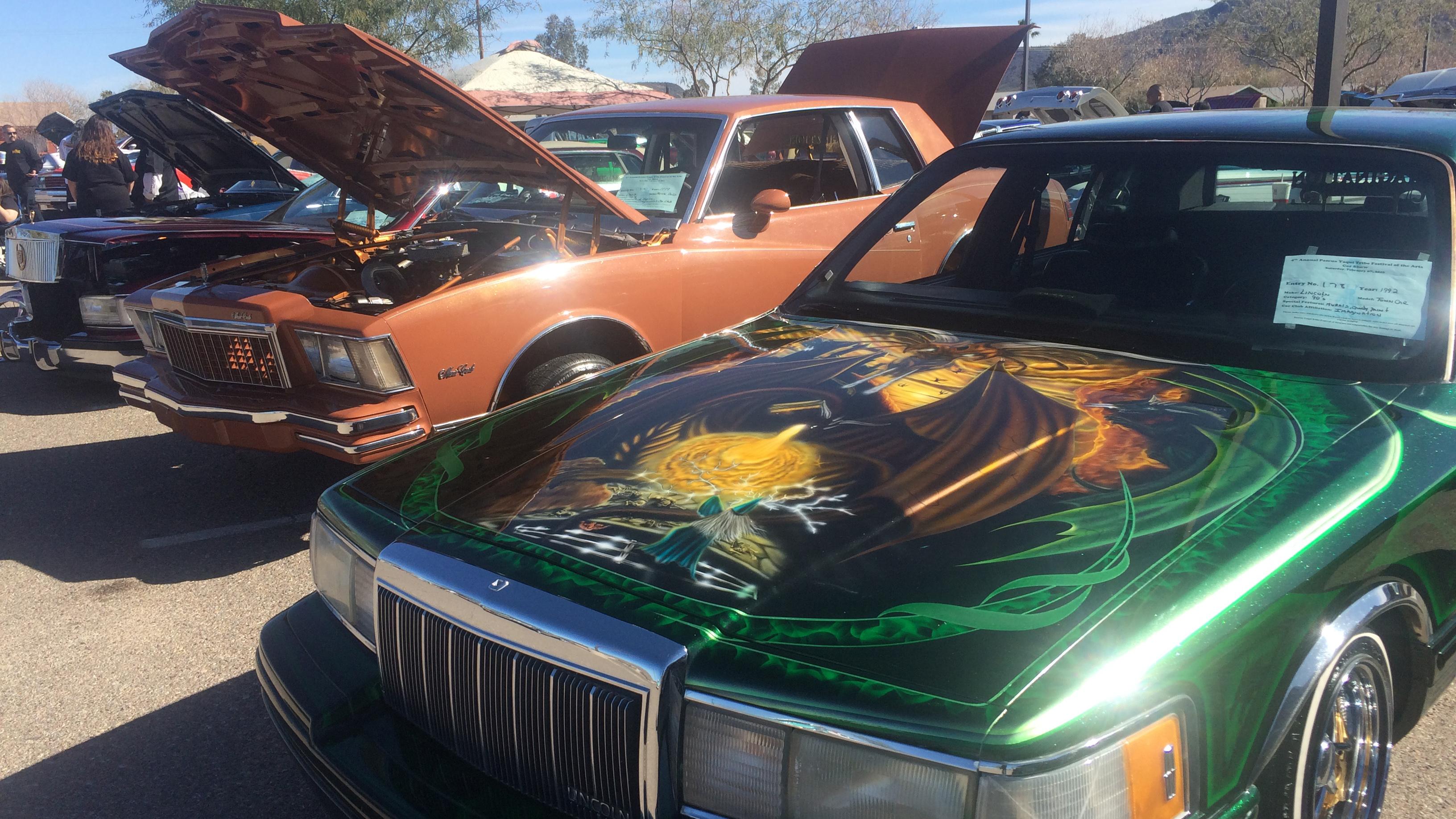 Show cars spot