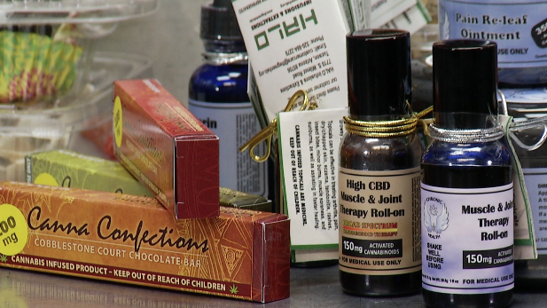 Marijuana is an ingredient in these edible and topical products from Halo Infusions & Extractions in Tucson.