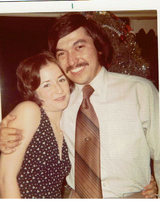 Danny and Roni Ashford in 1972.