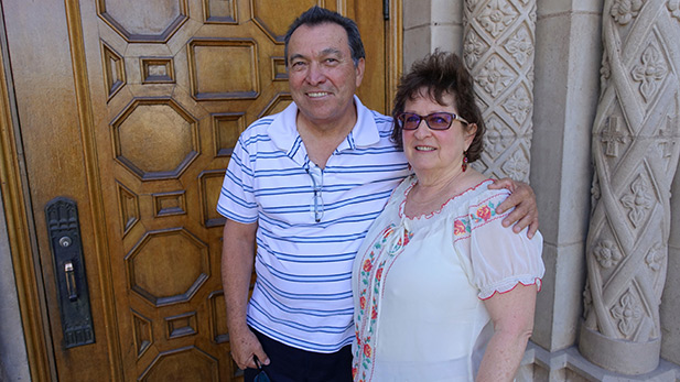 Danny and Roni Ashford in Nogales 2016