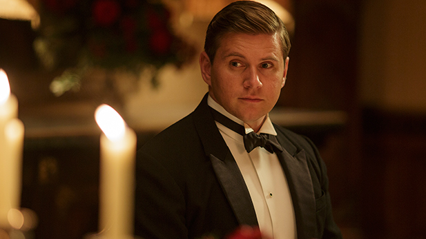 "Allen Leech, who played Branson, in the sixth season of ""Downton Abbey."""