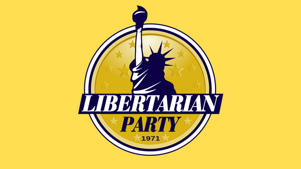 The logo for the Libertarian Party.