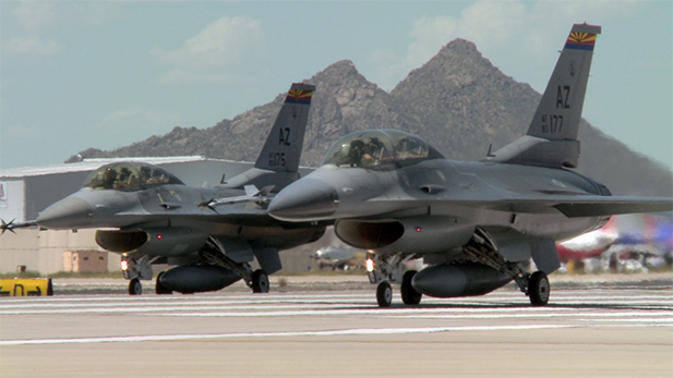 F-16 training spotlight