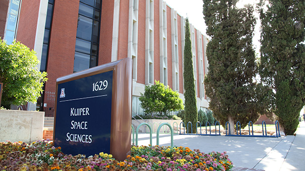 Kuiper Space Sciences Building at the University of Arizona.