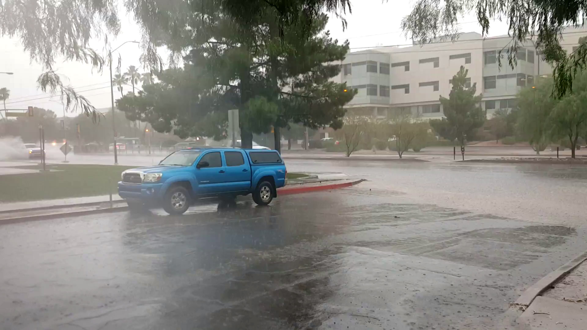Monsoon Rain at Campbell hero