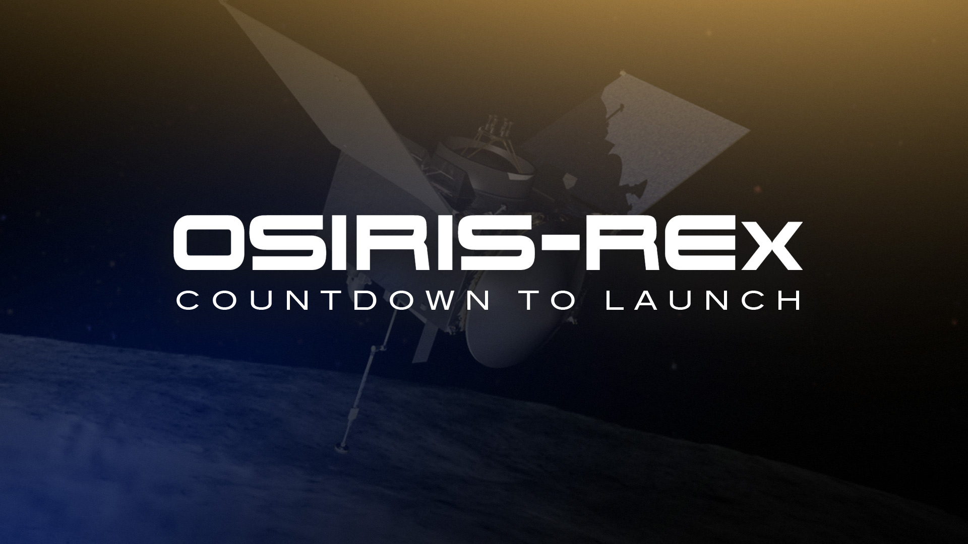 OSIRIS-REX Countdown to Launch hero