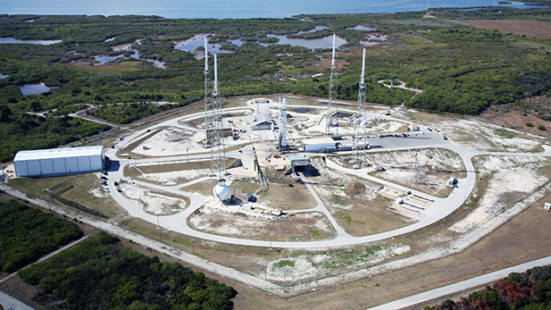 Launch Complex 40 spotlight