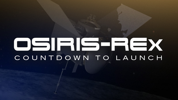 """OSIRIS-REx: Countdown to Launch"" is an in- depth look at the science and scientists behind OSIRIS-REx …the University of Arizona based mission to send a spacecraft to an asteroid,  collect a sample, then return that sample to earth."