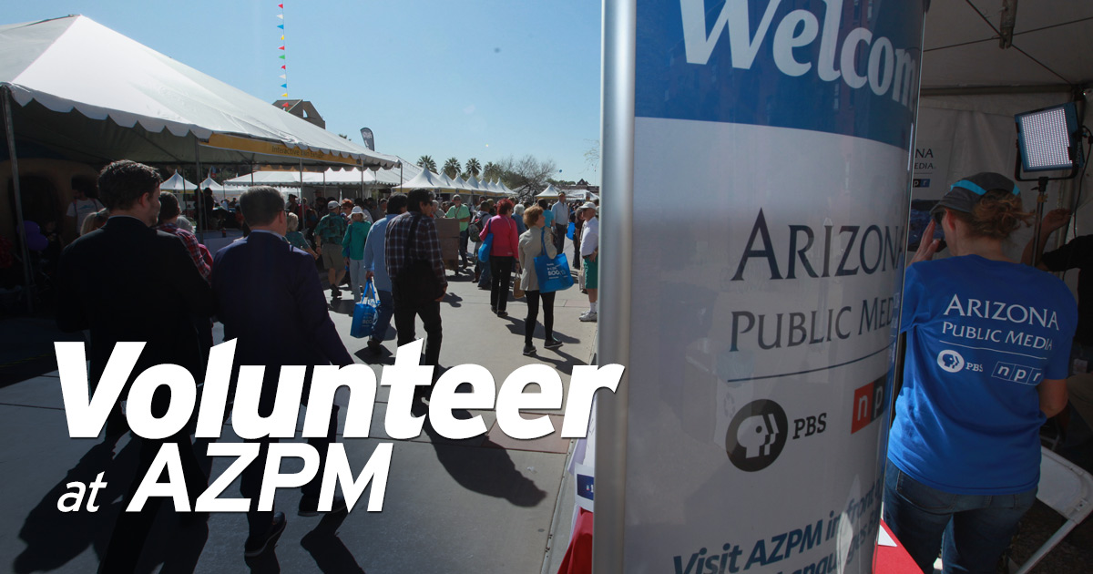 Volunteer at AZPM