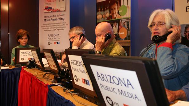 Pledge Drive Volunteers - TV and Radio