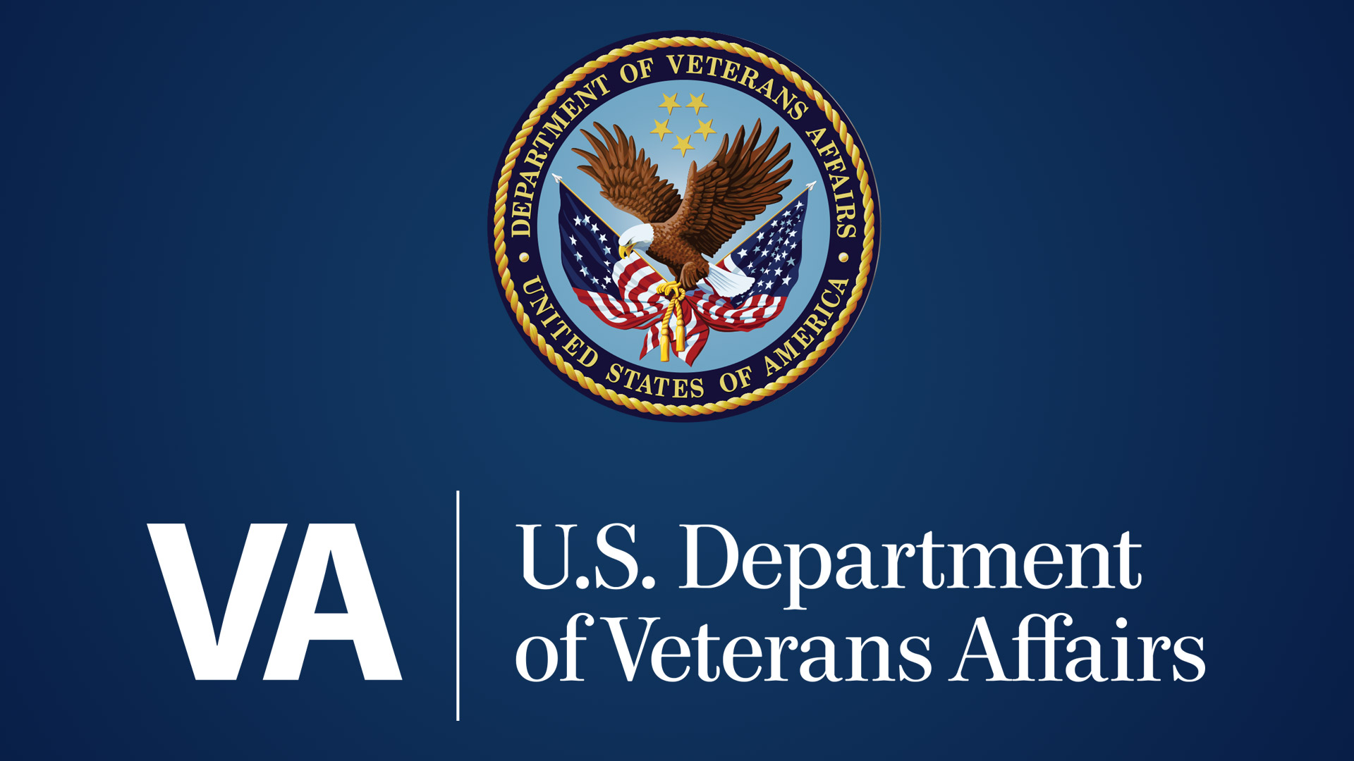 The logo for the U.S. Department of Veterans Affairs.