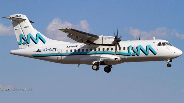 An Aeromar plane.