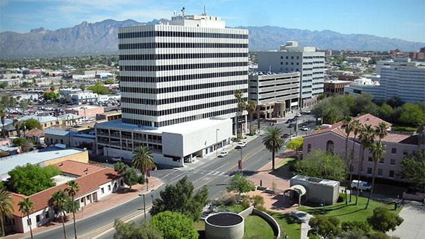 Downtown Tucson Transamerica bldg spot