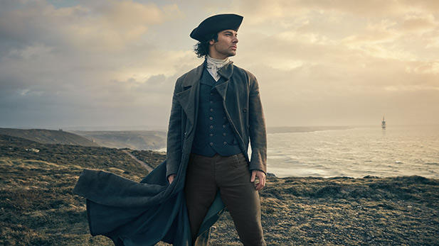 Aidan Turner returns as Ross Poldark for Season 2.