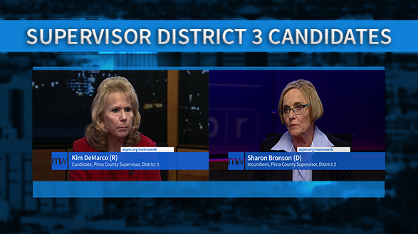 Candidates for Pima County Supervisor in District 3, 2016.