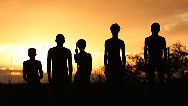 Who were the earliest modern humans to appear in Africa? (Northern Cape, South Africa)