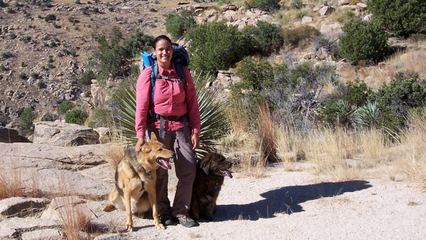 Sirena Dufault began exploring the Arizona Trail in segments before completing it twice.