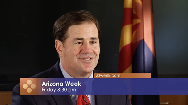 Arizona Gov. Doug Ducey on Arizona Week, Jan. 13, 2017.