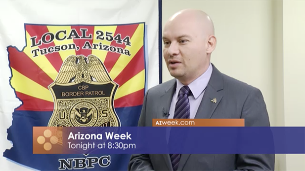 Arizona Border Patrol union president Art del Cueto, on Arizona Week, Jan. 20, 2017.