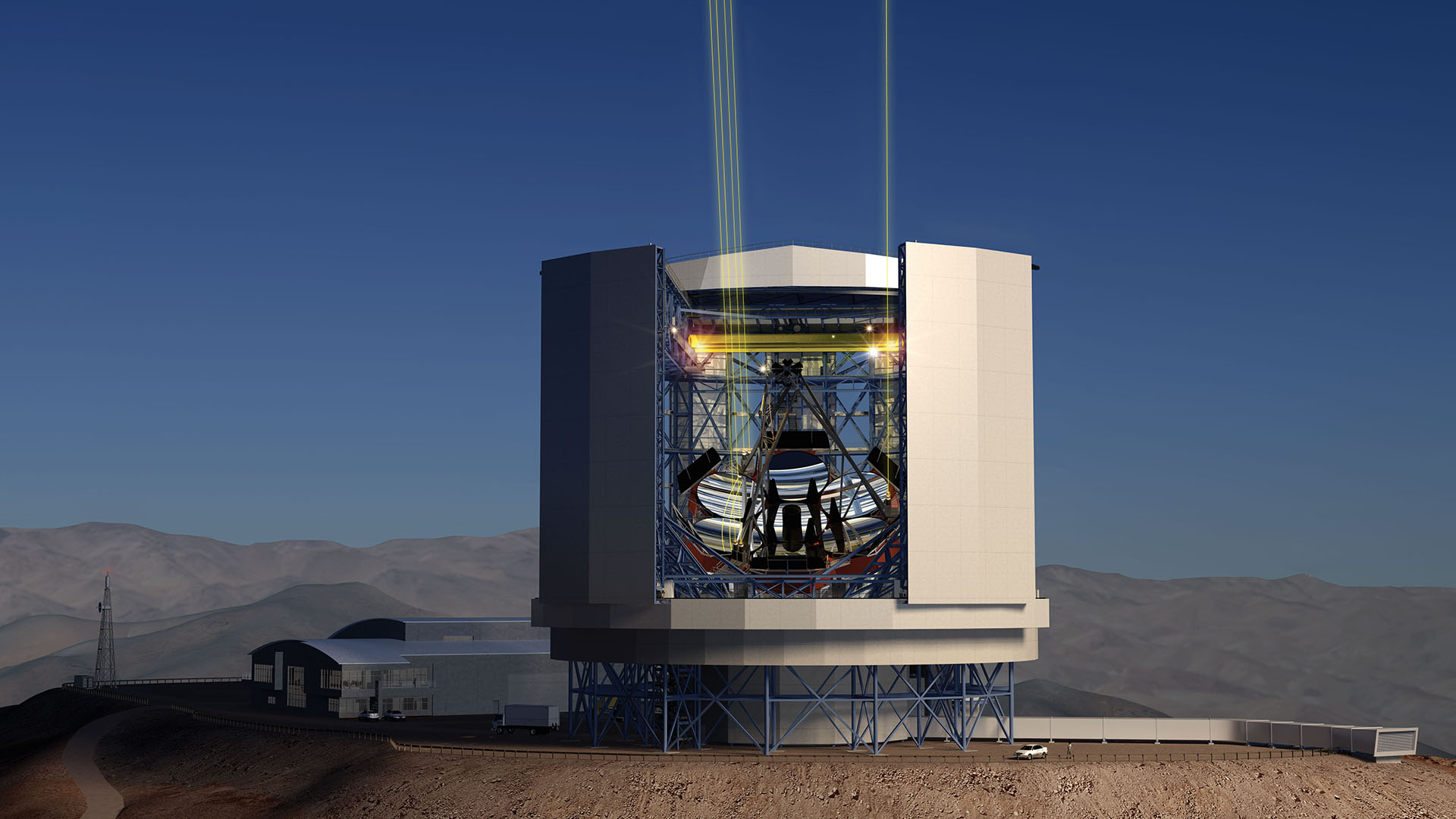 The Giant Magellan Telescope will be constructed in the Las Campanas Observatory in Chile and will be commissioned in 2022.