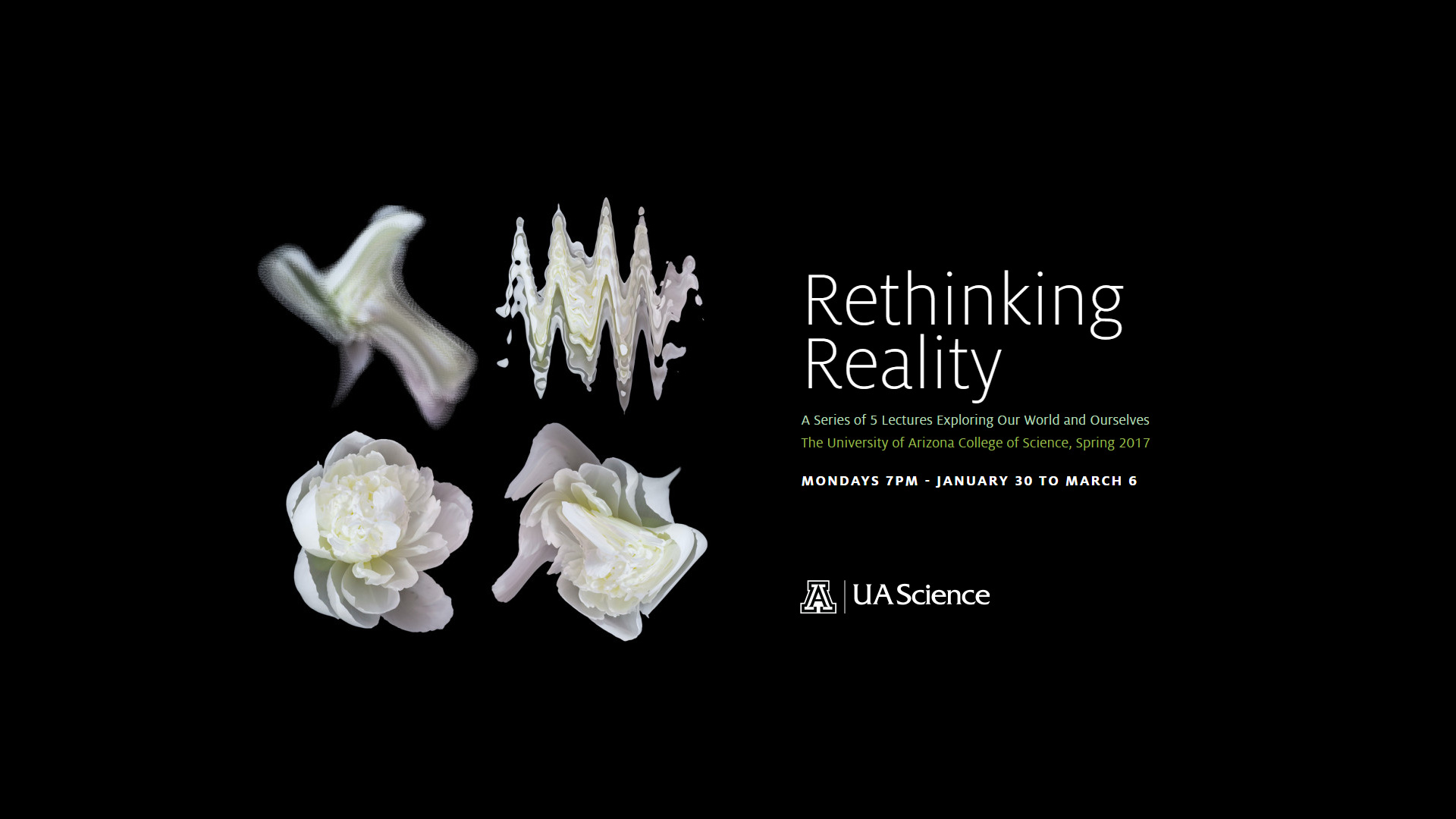 UA Science Lecture Series: Rethinking Reality hero