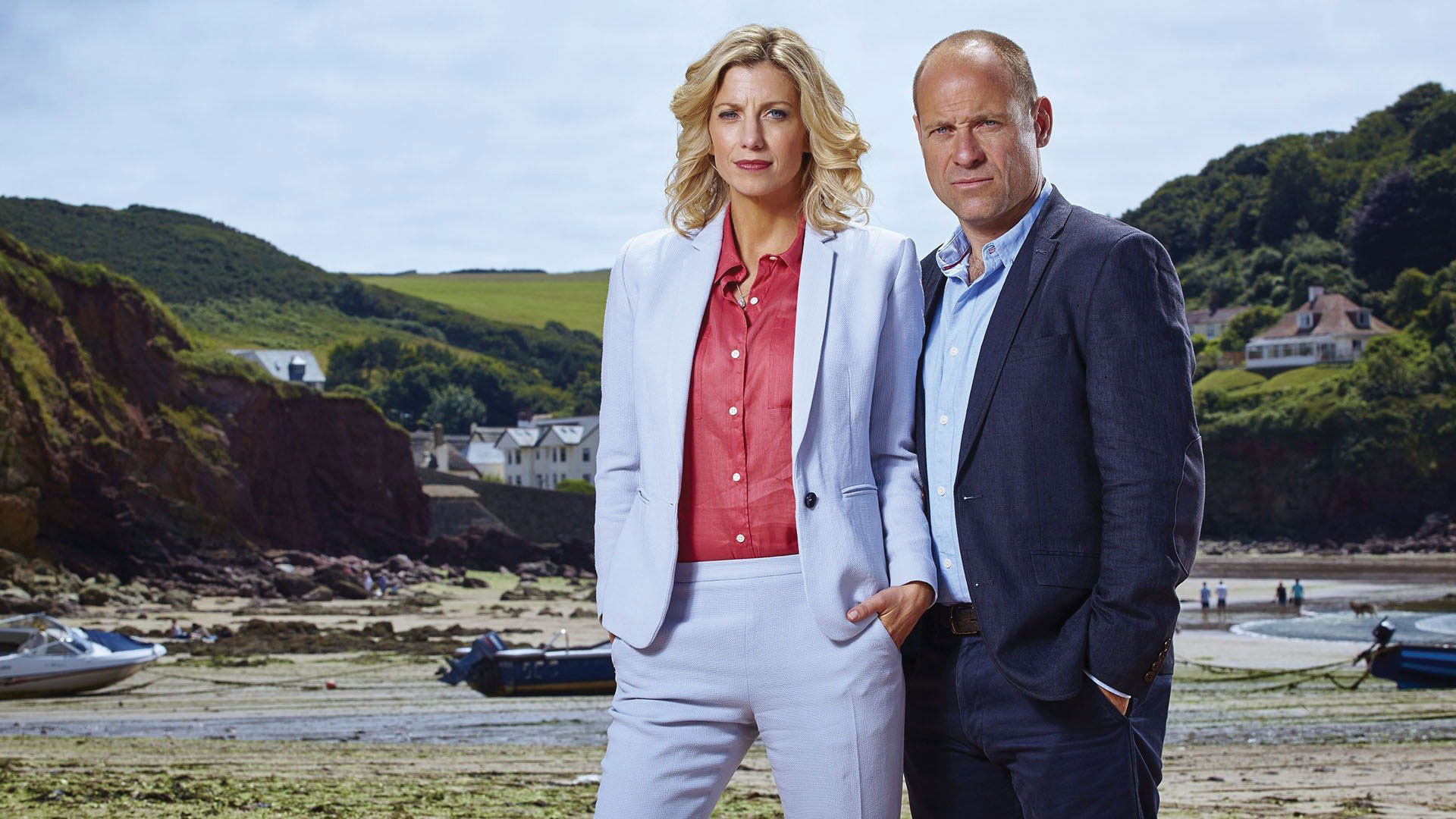 Claire Goose and Matt Bardock in The Coroner