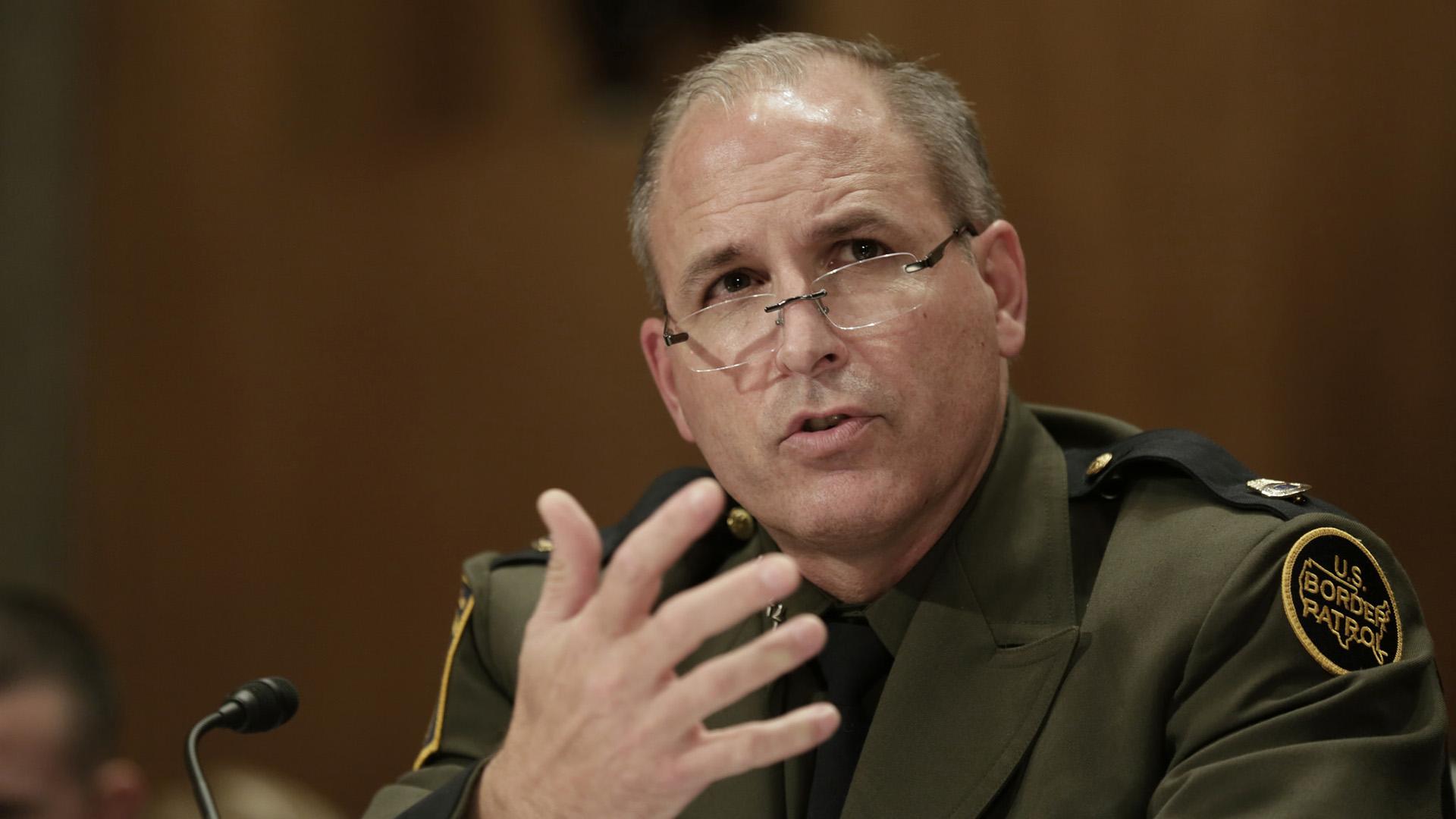 Border Patrol Chief Mark Morgan Hero