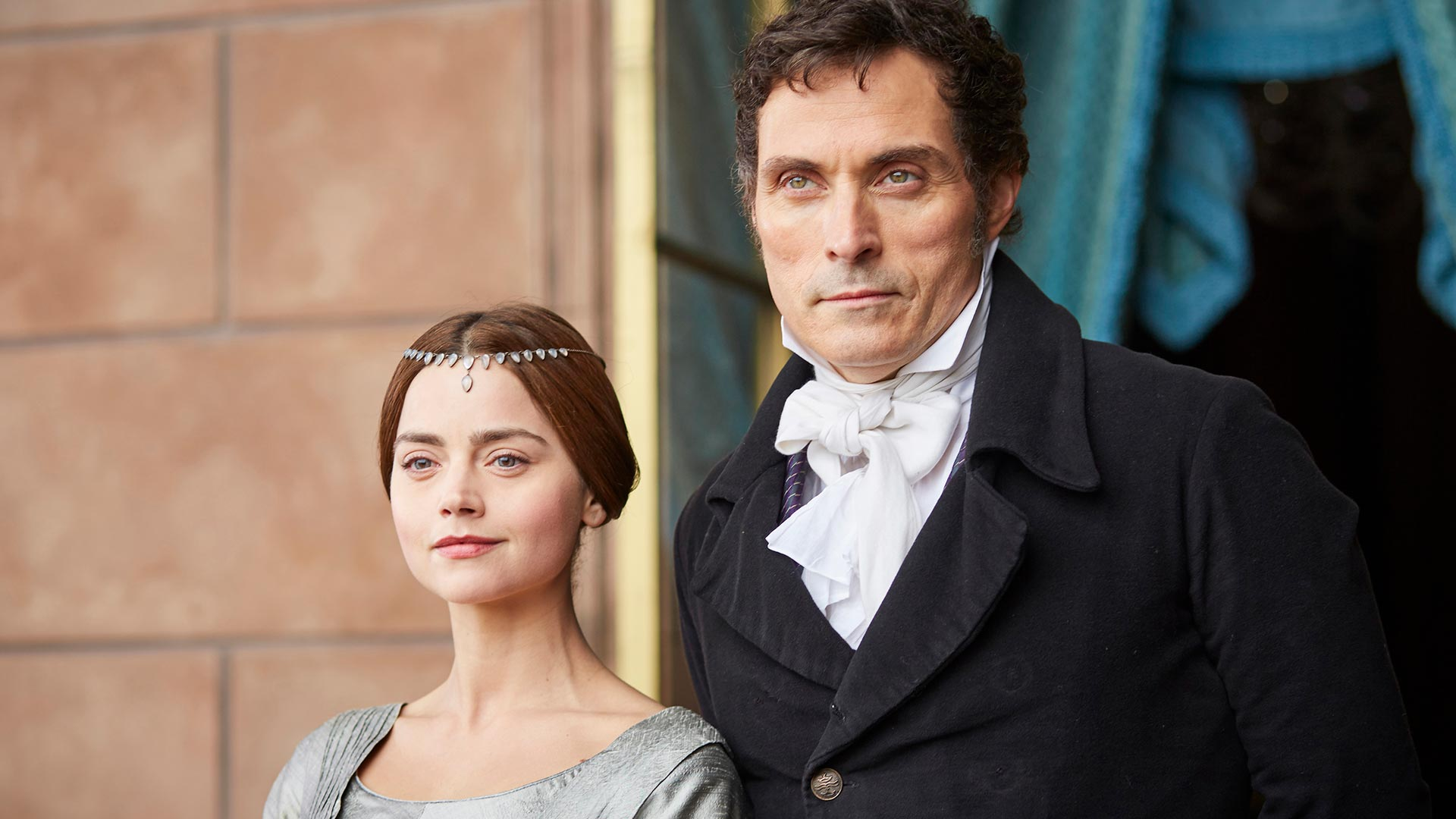Jenna Coleman as Victoria and Rufus Sewell as Lord Melbourne