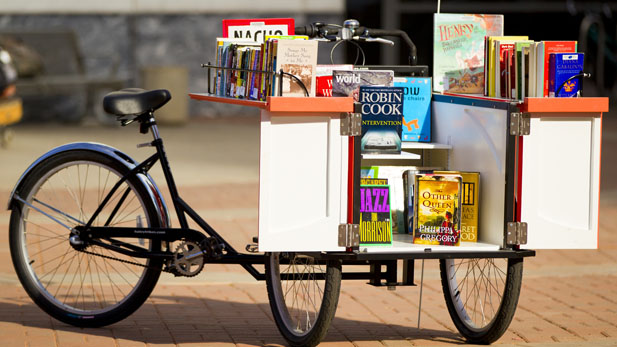 book bike spotlight