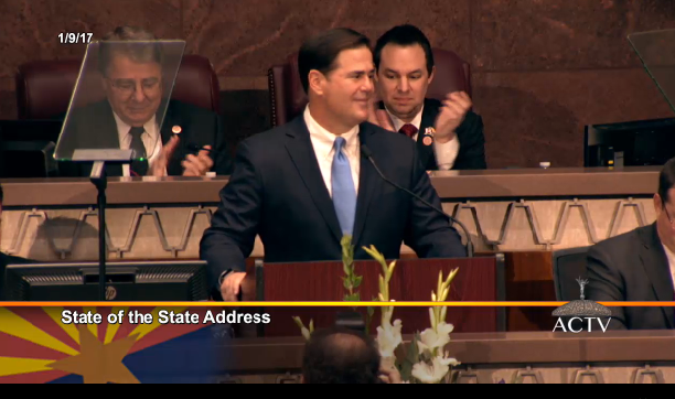 Ducey state of state 010917