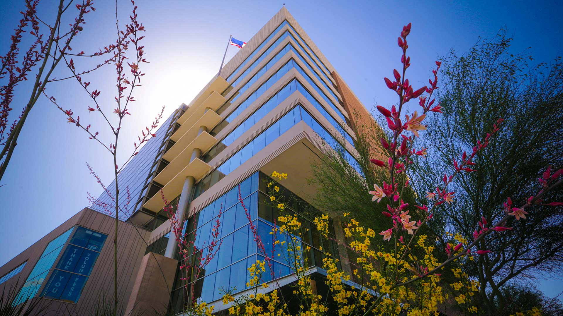 The TEP Building in downtown Tucson