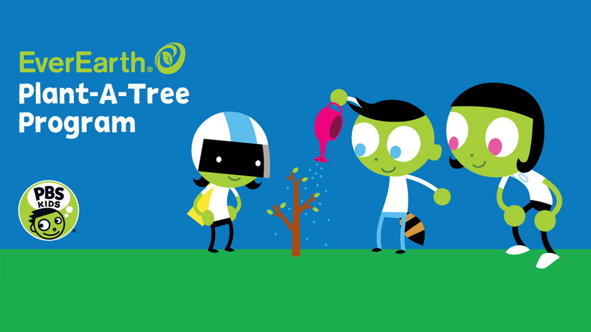 kids everearth plant a tree hero