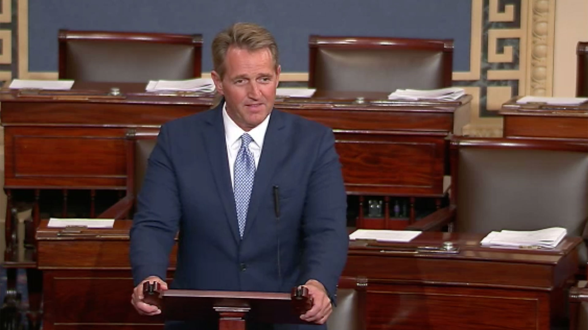 Jeff Flake Announcement hero