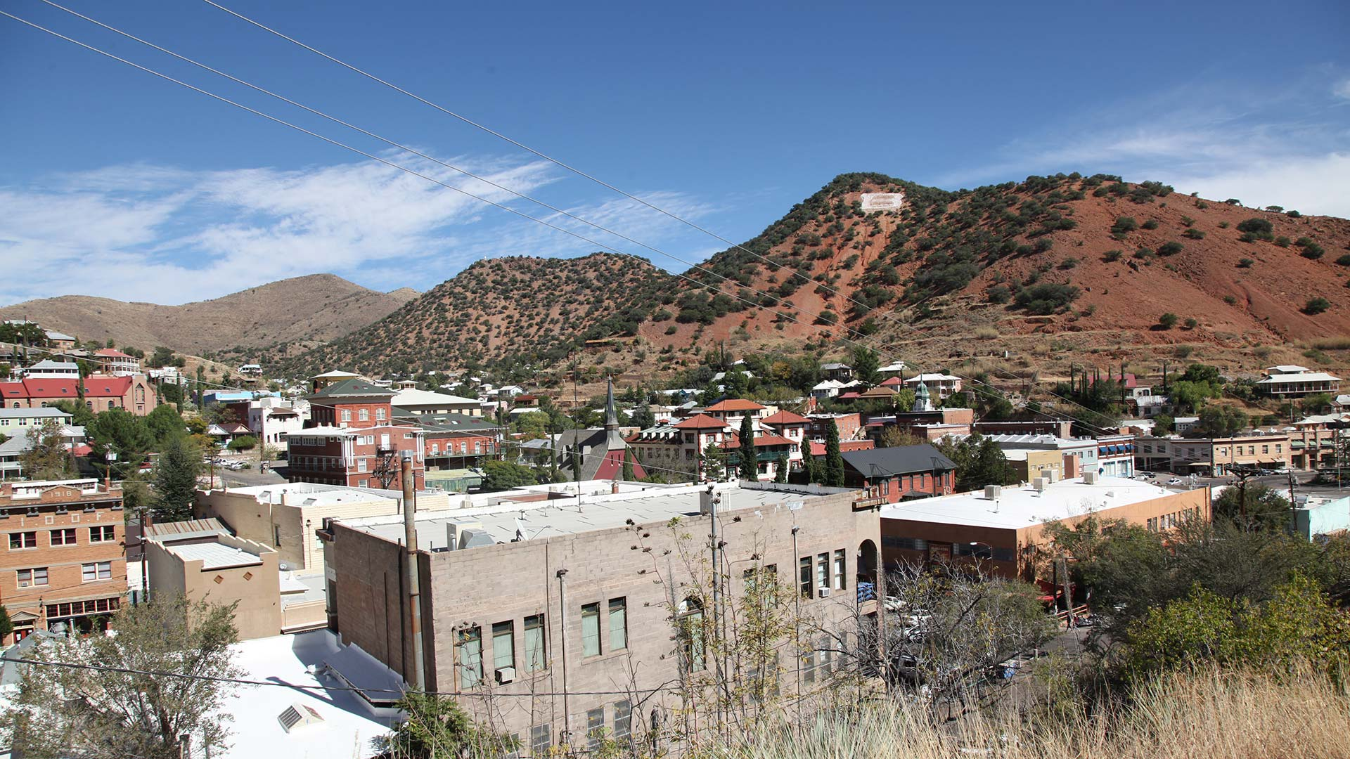 A view of downtown Bisbee.